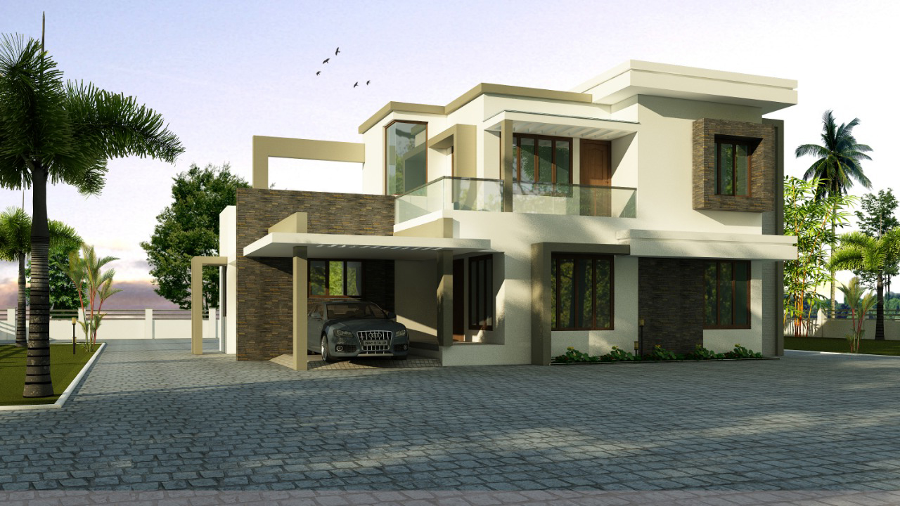 Forms4 Cochin Luxury Villa 4 Bedroom idea
