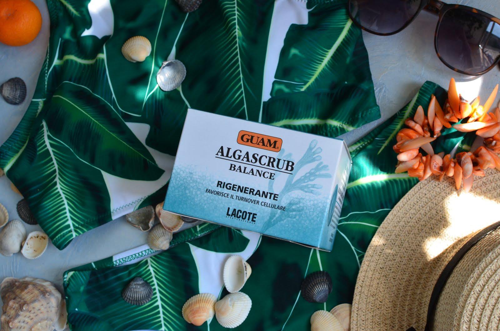 """Guam Algascrub Balance Скраб для тела """"Баланс"""" и НОВИНКИ"""