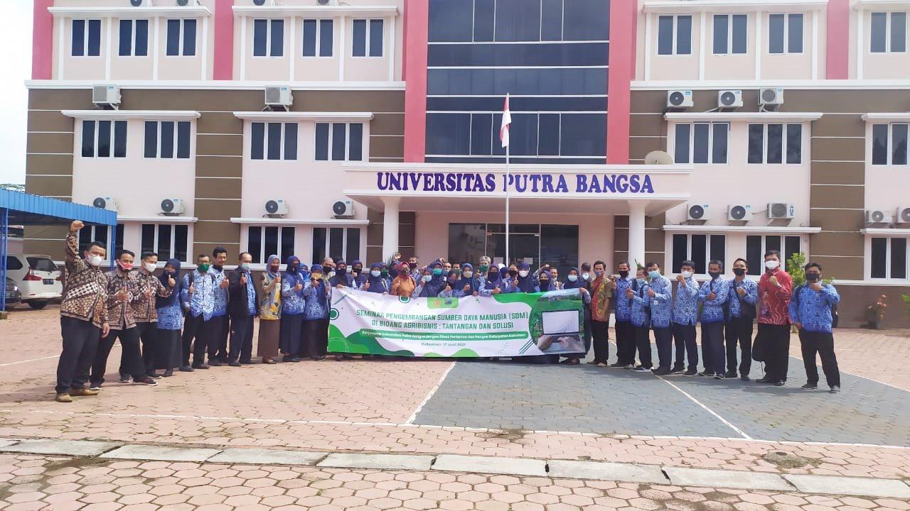 Universitas Putra Bangsa Konsisten Bakal Bantu Pengembangan Agribisnis di Kebumen