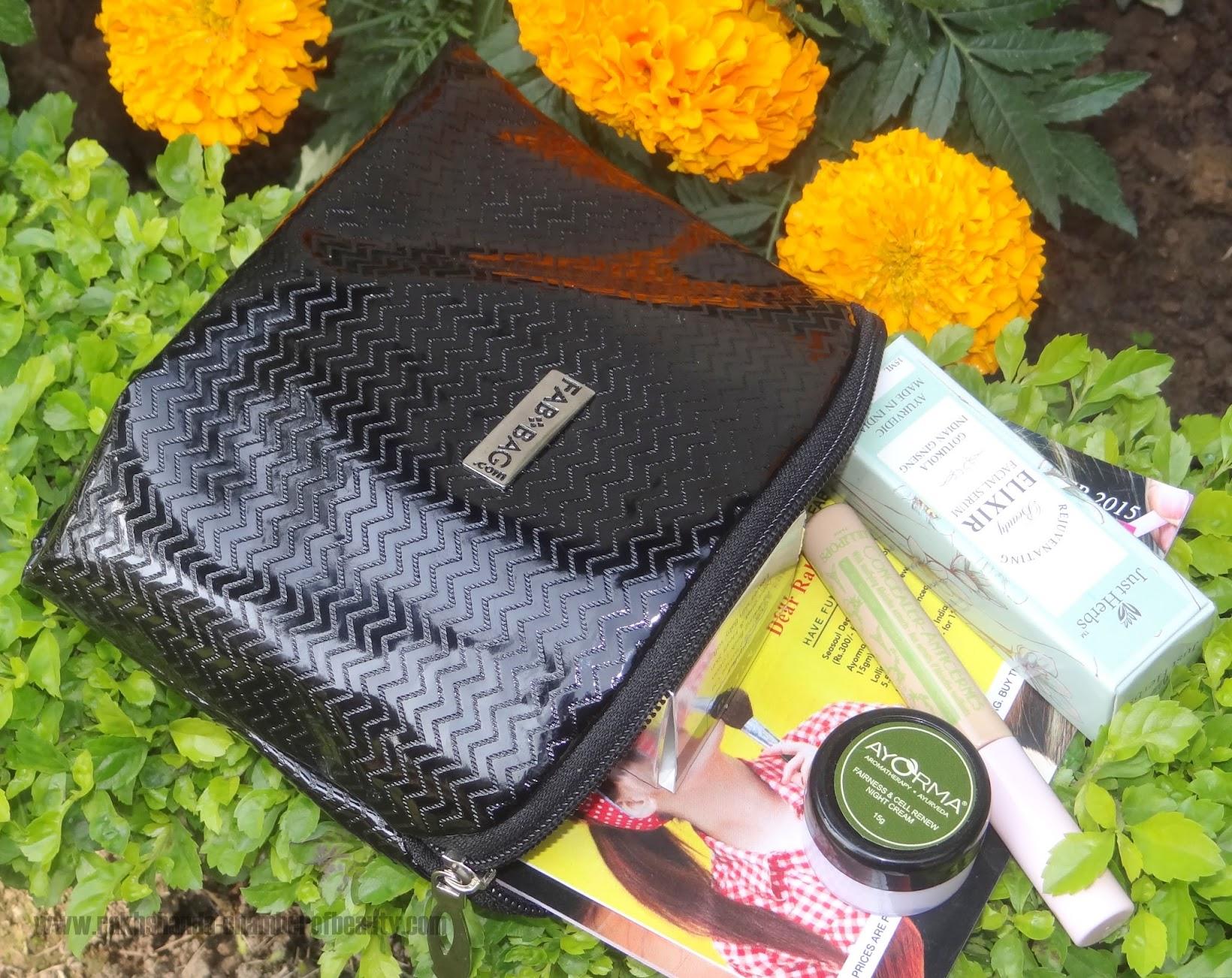 FAB BAG November 2015- Review, Fab Bag review, Indian beauty blogger