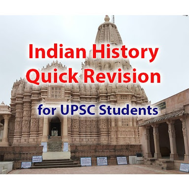 INDIAN HISTORY QUICK REVISION NOTE