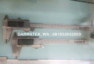 Darmatek Jual Digital Caliper DEKKO model D6 - Jangka Sorong 6 inch