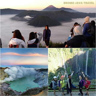 Mount Bromo, Ijen Crater, Tumpak Sewu Waterfall tour