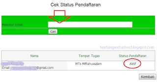 Cara upload emis pada aplikasi online