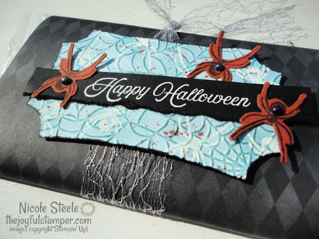halloween, magic in this night, hallows night magic stamp set, hallows magic dies, hallows magic night bundle, treat packaging, popcorn, stamping, paper crafts, how to stamp, learn to stamp, nicole steele, the joyful stamper, independent stampin' up! demonstrator in pittsburgh pa