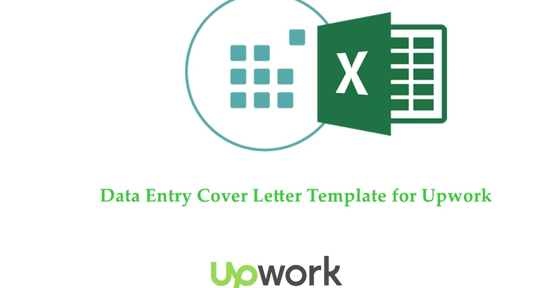 Data Entry Proposal Cover Letter Template For Upwork