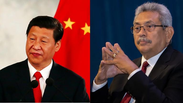 china and sri lanka presidents