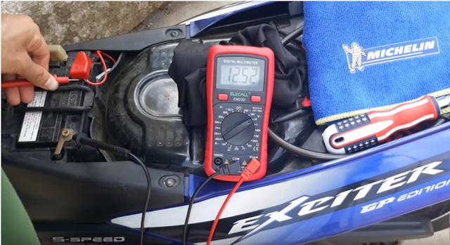 Những điều cần biết khi lên sạc, chuyển sử dụng điện bình đối với xe Exciter 150