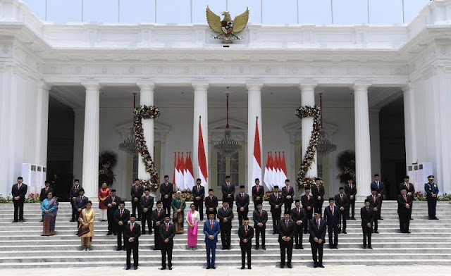 Presiden Jokowi: Jangan Korupsi, Jangan Ada Visi-Misi Menteri