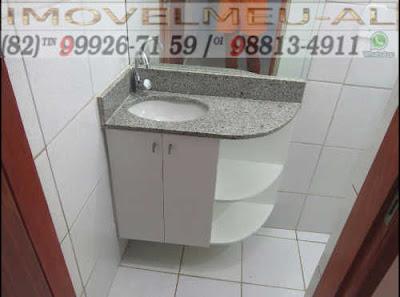 Foto que mostra parte de banheiro da sala comercial farol, sabemos que é essencial para o conforto e a sua comodidade e de seus clientes uma banheiro bem estruturado e esta sala tem.