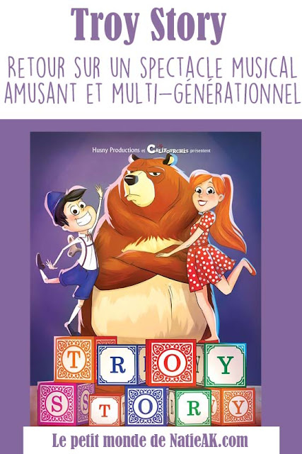 Avis sur le spectacle musical Troy Story