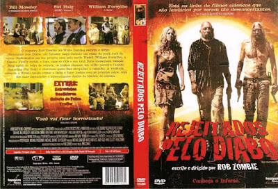 Filme Rejeitados Pelo Diabo (The Devil's Rejects) DVD Capa