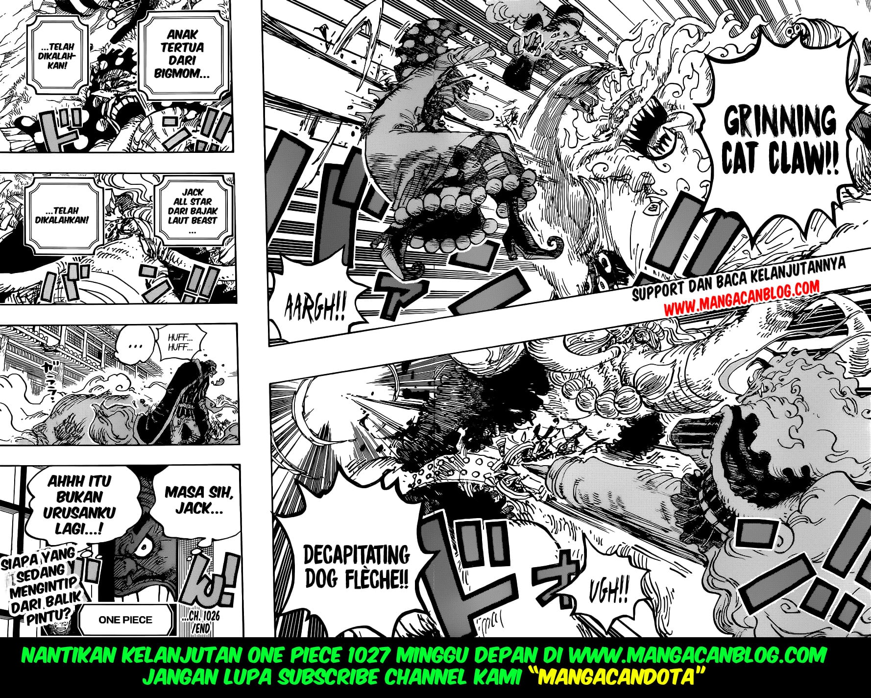 Manga One Piece Chapter 1026 Bahasa Indonesia