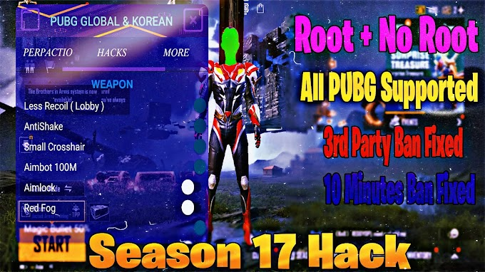 PUBG Mobile AntiBan PUBG Injector 4.4 || Season 17 All Pubg Supported ||  Wallview, AimBot, LessRecoil, MagicBullet, Esp, And More
