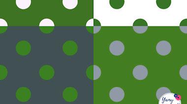 Nuevo patrón: Vintage polka dots 1