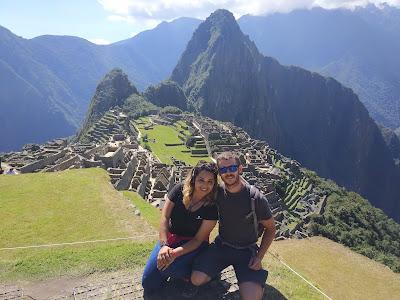 Nerea compartió su viaje solidaro con su pareja, Enric.