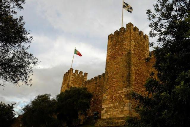 Christmas in Lisbon: Castelo de São Jorge