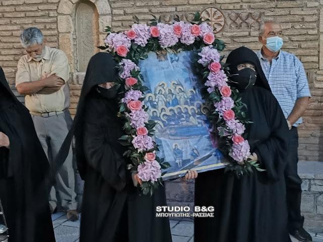 Αργολίδα: Με λαμπρότητα η εορτή της Παναγίας στην Ιερά Μονή Καλαμίου