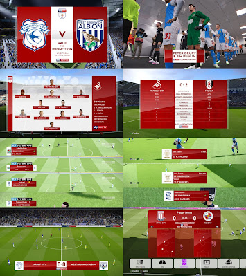 PES 2020 Scoreboard Sky Sports EPL, EFL and EFL Playoffs Scoreboards by Spursfan18