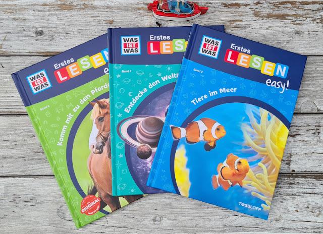 WAS IST WAS Erstes Lesen: Spannende Sachbücher für Leseanfänger. Die Reihe Erstes Lesen easy! richtet sich an ungeübte Erstleser und Kinder, die sich über einen leichten Einstieg in Themen wie Tiere im Meer, Pferde und Ponys sowie Weltraum freuen.
