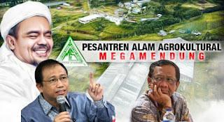 Surat Marzuki Ali kepada Mahfud MD soal Pesantren HRS: Banyak konglomerat miliki tanah PTPN kenapa dibiarkan?
