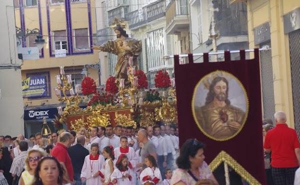 Suspenden la procesión del Corazón de Jesús de Málaga prevista para el 21 de junio
