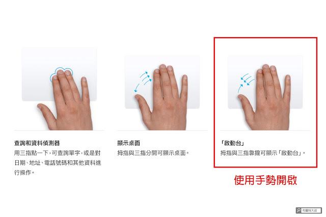 【MAC 幹大事】如何移除 Mac 用不到的 APP 應用程式 / 軟體? - 也可以使用觸控板的手勢開啟