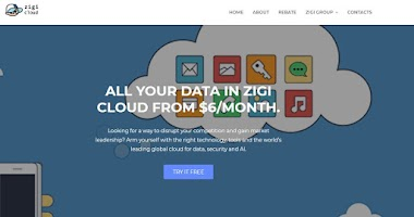 All your data from 6$/Month at ZigiCloud.com + FREE 100 ZIGI COINS AS A REBATE!