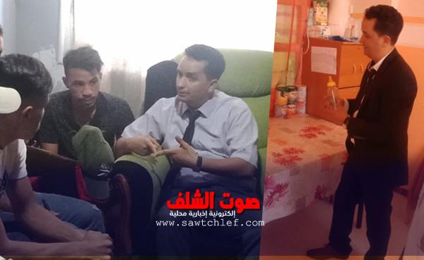"""""""الميدان"""" أبلغ من التقارير .. مدير النشاط الإجتماعي يقف على واقع قطاعه بالشلف"""