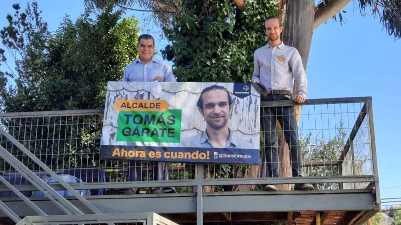 Tomás Gárate y Eduardo Cerón