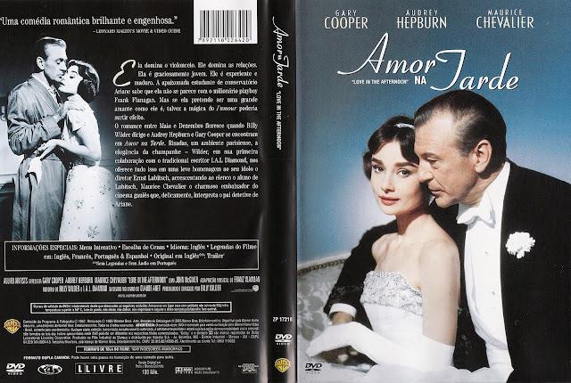 Capa DVD Amor na Tarde
