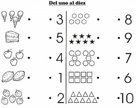 Matemáticas divertidas para peques: hojas de trabajo