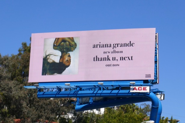 Ariana Grande thank u next billboard