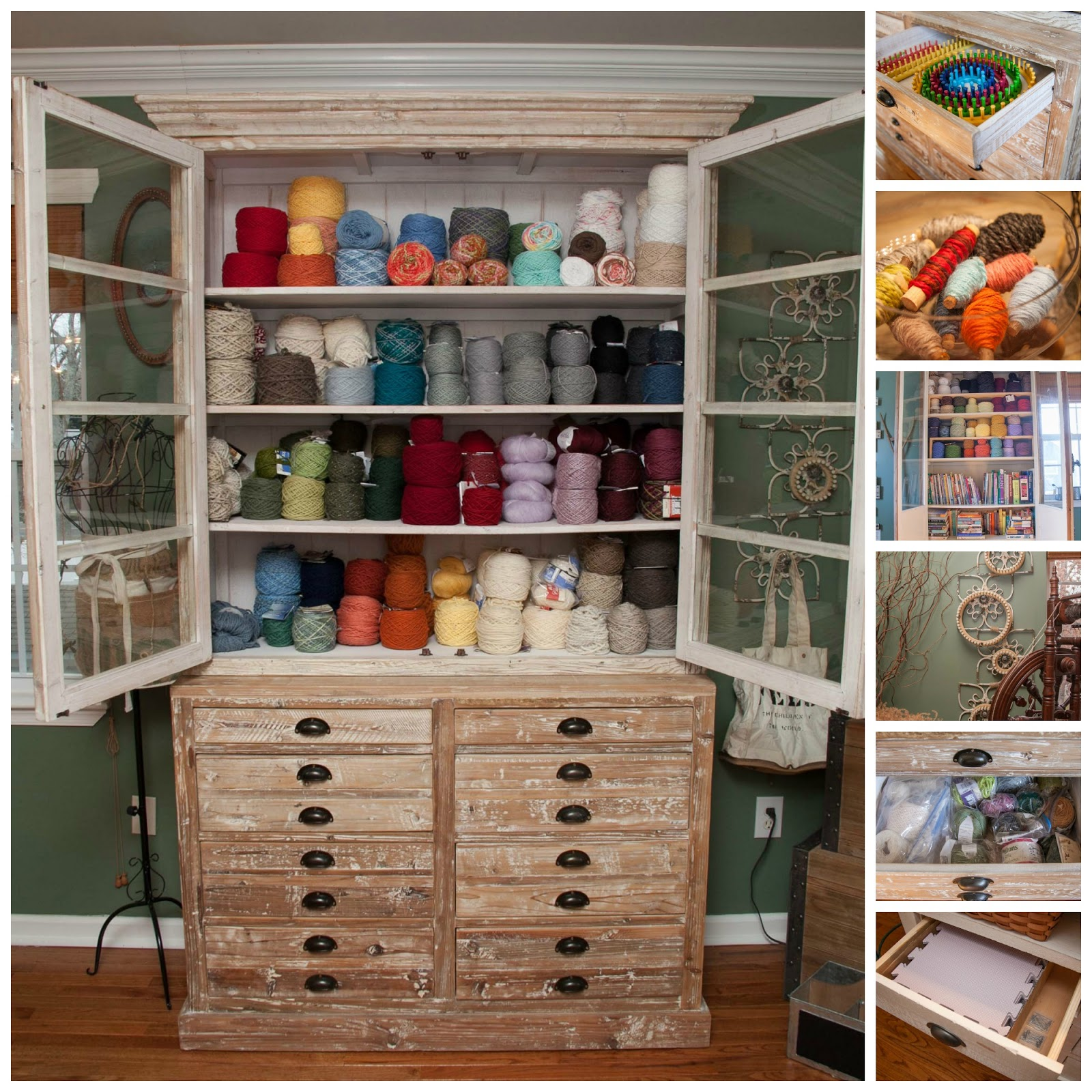 Loom Knitting By This Moment Is Good Fiber Arts Studio Tour