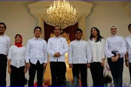 7 Anak Muda Milenial Yang Menjadi Staf Khusus Presiden Jokowi
