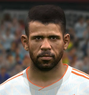 PES 2017 Faces Diego Costa by FaceEditor Jefferson_SF
