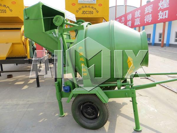 Which concrete mixer is acceptable for concrete batch plant