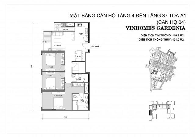 04 - Tòa A1 Vinhomes Gardenia
