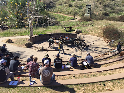 Stand at the Battle of San Pasqual Staff Ride