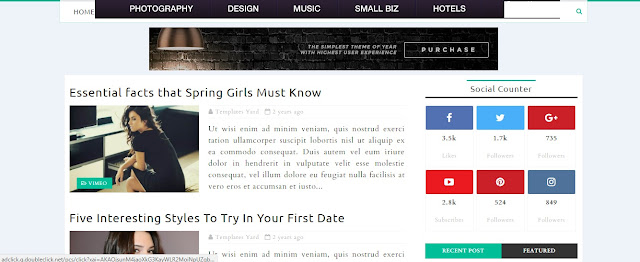 Smart Seo Blogger Template