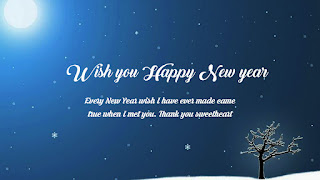 happy new year 2020 in advance wishes for boyfriend
