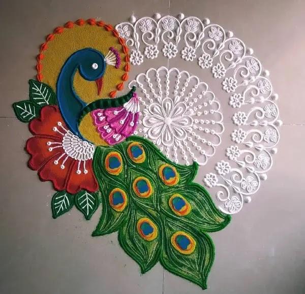 Beautiful_peacock_with_flowers_rangoli_design
