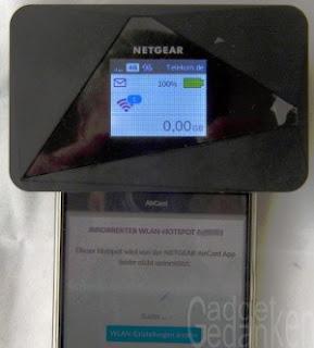 Netgear AC785: keine Konfguration ohne mobile Daten