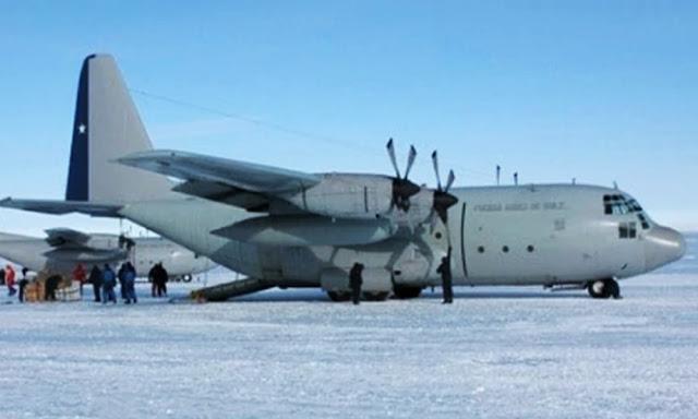 Desapareció un avión militar chileno con 38 personas a bordo