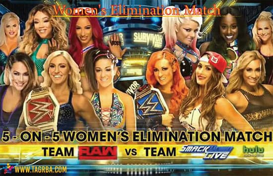 Women's Elimination Match - منصة تجربة