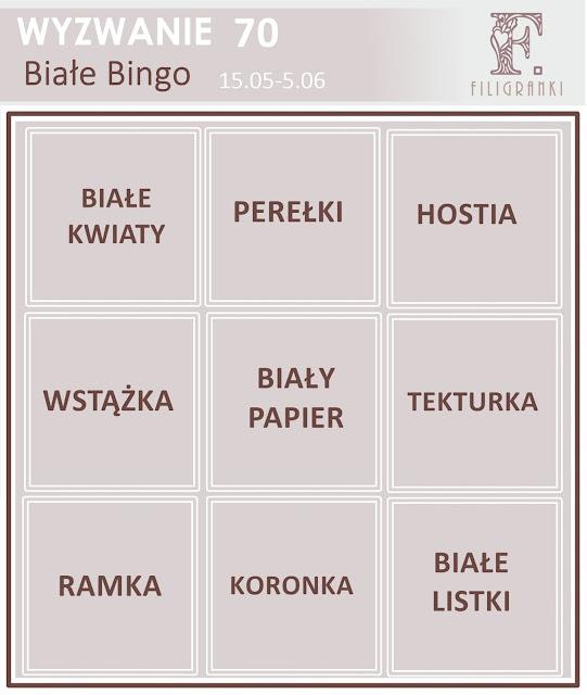 Wyzwanie #70 Bingo
