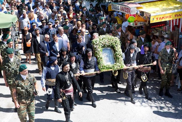 1606η Πανηγυρική εορτή του Δεκαπενταύγουστου στην Παναγία Σουμελά στο Βέρμιο