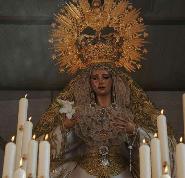 La Virgen de la Estrella, presidirá el Vía Crucis de Hermandades de Palma del Rio