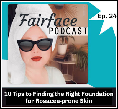 How to find the right foundation if you have Rosacea