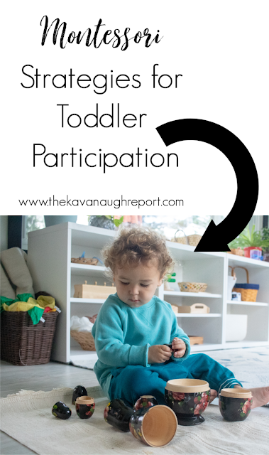 Strategies for dealing with a toddler that refuses to participate in daily tasks